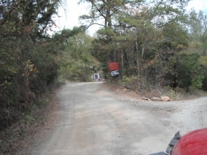 Clayton - Airstrip Entrance